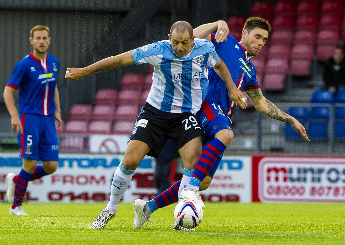 Caley Thistle vs Dundee