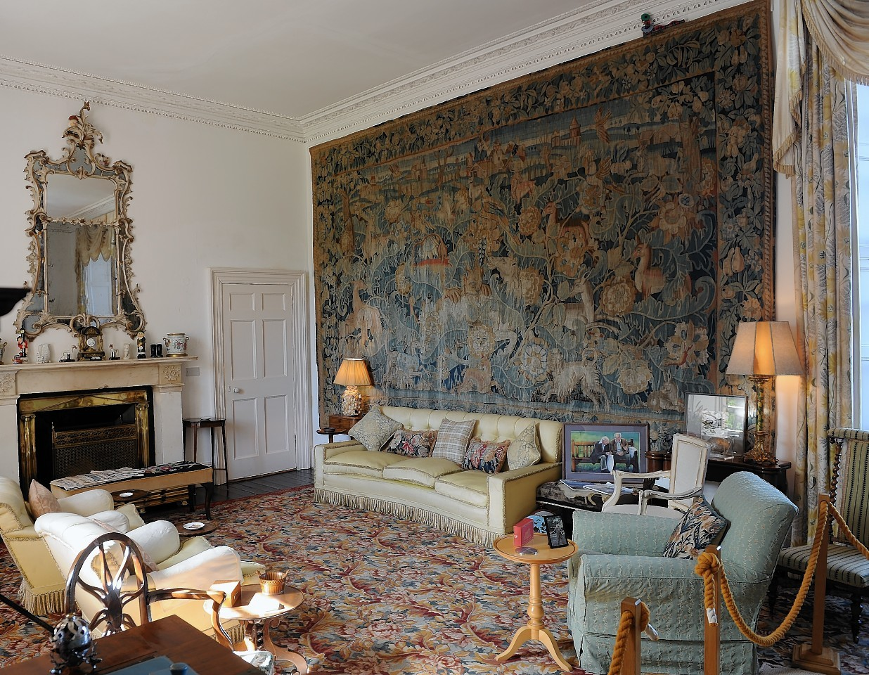 The Secret Behind The Famous Castle Of Mey Tapestry Press And Journal