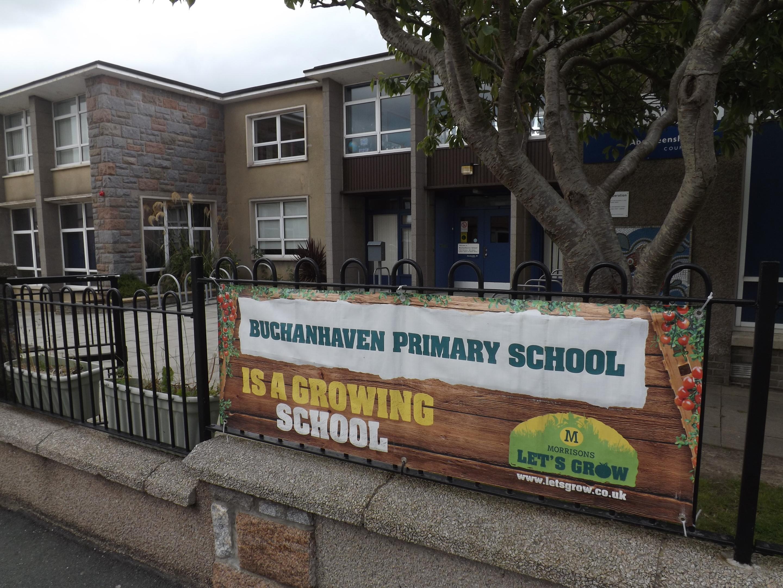 Buchanhaven Primary School.