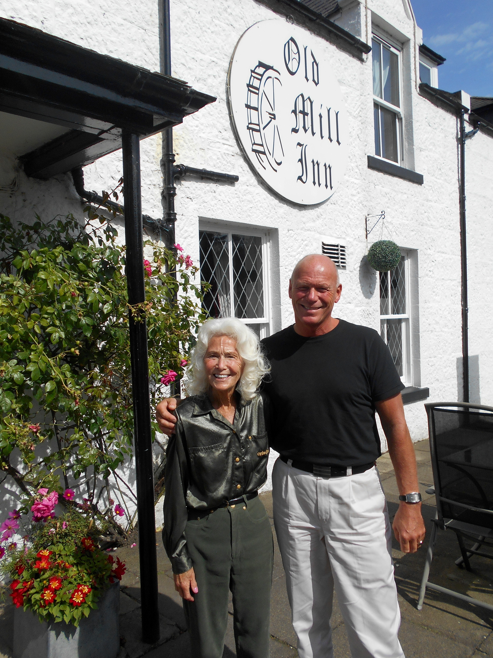 Victor and Audrey Sang Owners of the Old Mill Inn