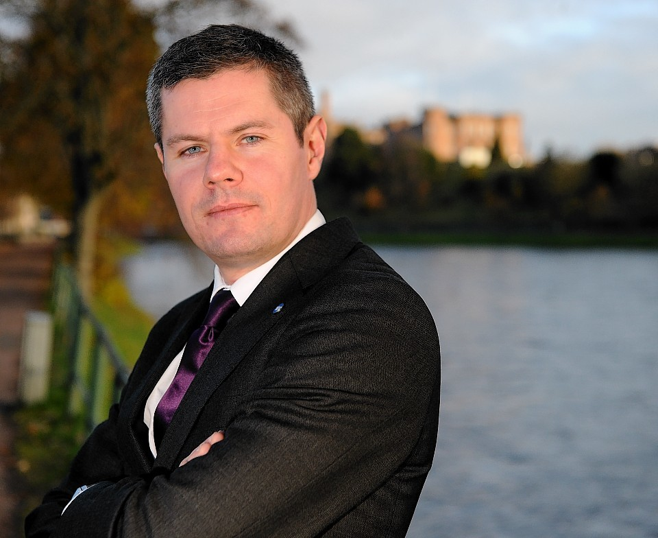 Minister for transport and the islands Derek Mackay