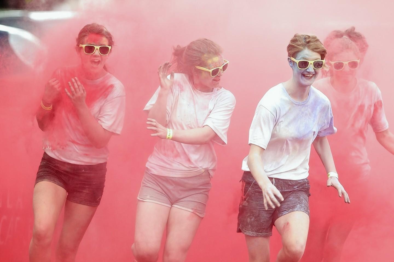 Inverness Run for Colour