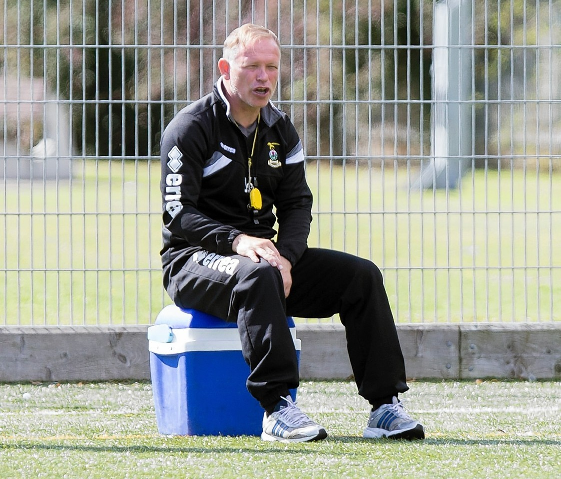 Caley Jags manager John Hughes will be idle this weekend