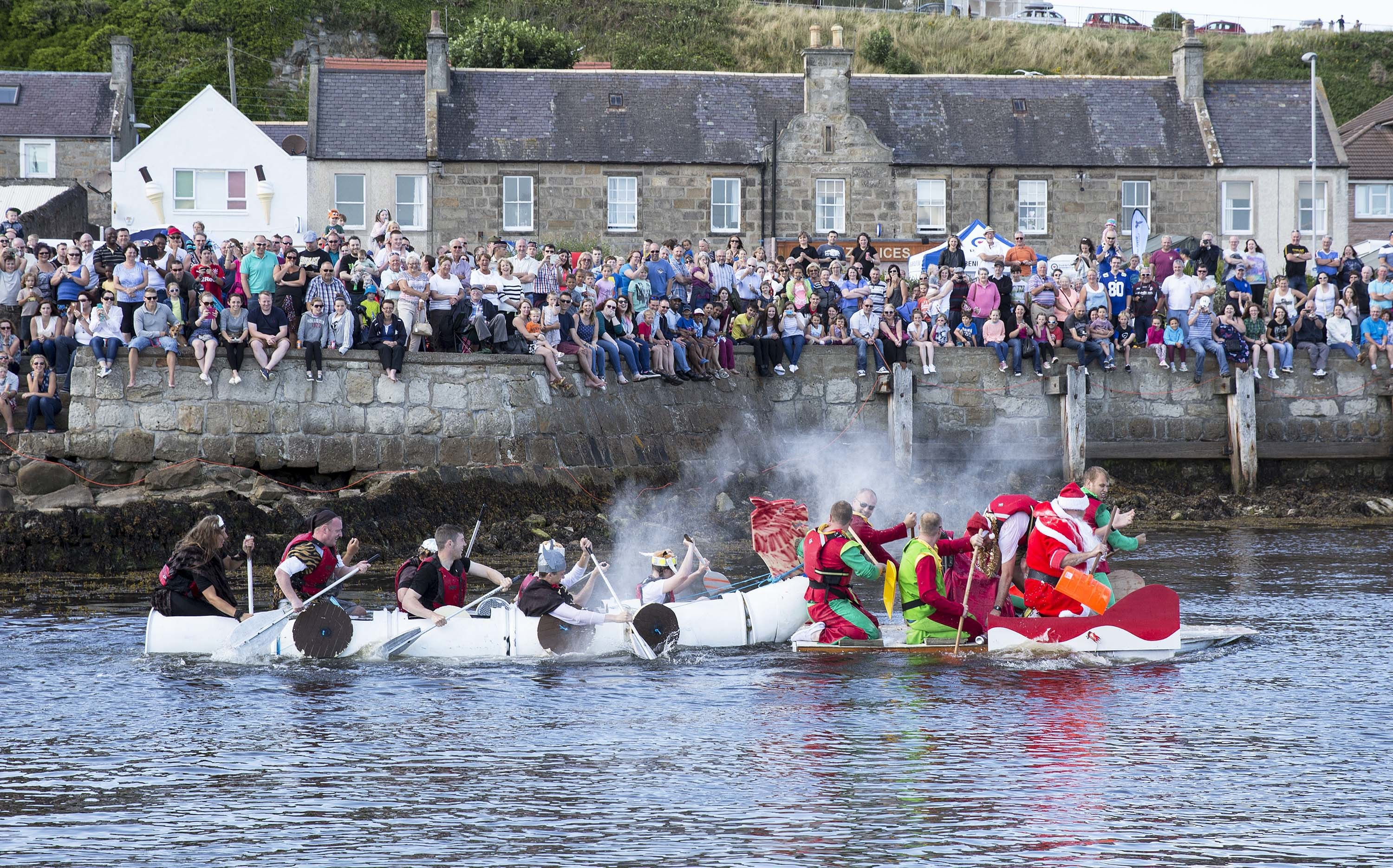 RAF Lossiemouth's raft race will make its return this year, after last year's event was called off.