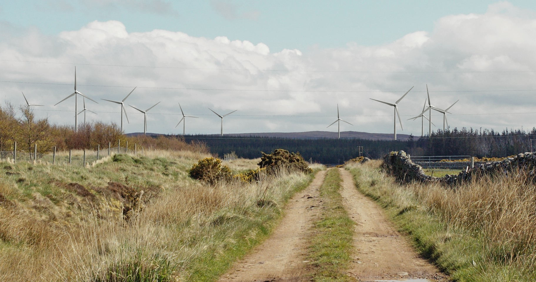 Impression of Limekiln Windfarm