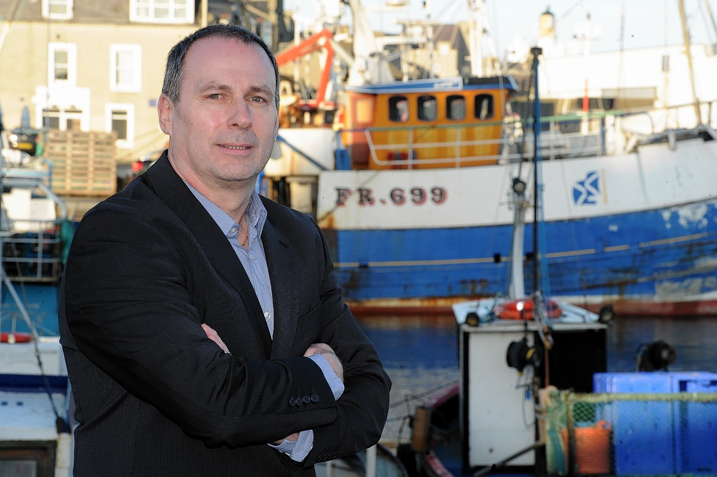 Scottish industry chief Mike Park now has a key role with Blue Fish