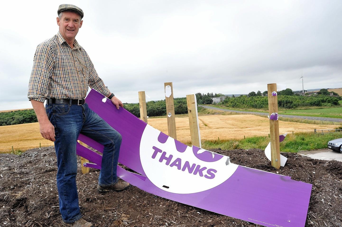 Strichen farmer Peter Chapman