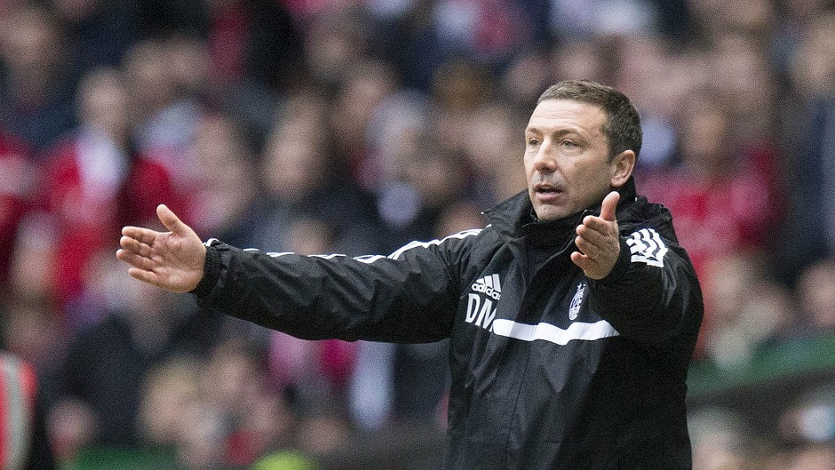 Derek McInnes: The Aberdeen manager wants his side to cut out the defensive mistakes.