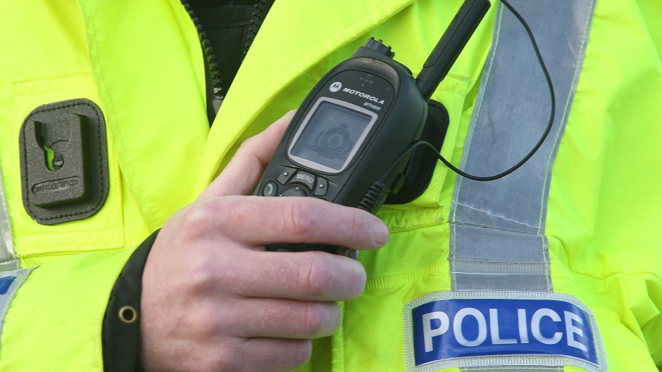 Police are warning drivers of dangerous conditions on the A90
