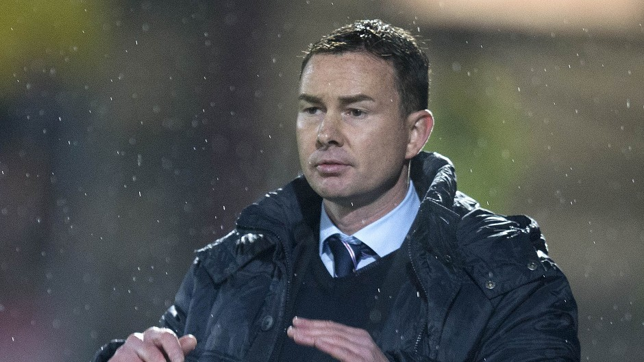 Derek Adams: Was sacked as Ross County manager in August.