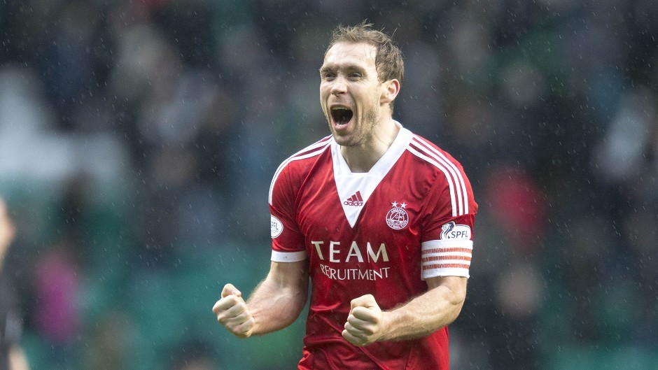 Russell Anderson last played for the Dons first team in August