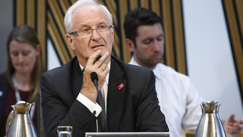 Scottish Police Authority chairman Vic Emery.