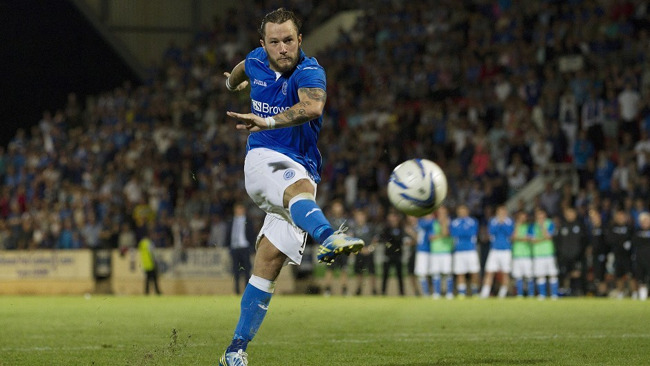 Stevie May could be set for a return to Scotland.