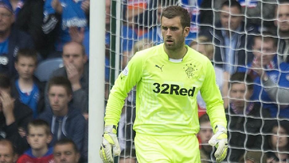 Derek McInnes is targetting Rangers goalkeeper Cammy Bell