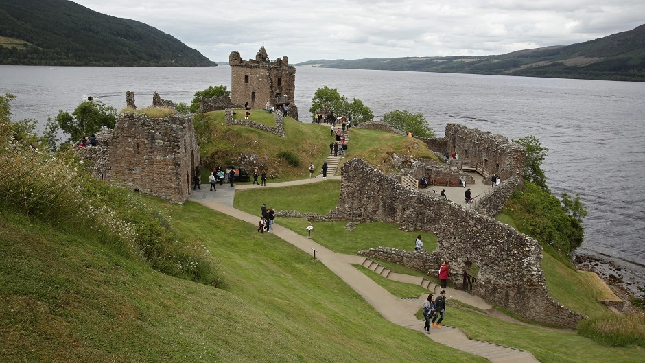 A record number of people have visited Urquhart Castle