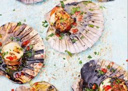 Scallops with Chilli Garlic Butter