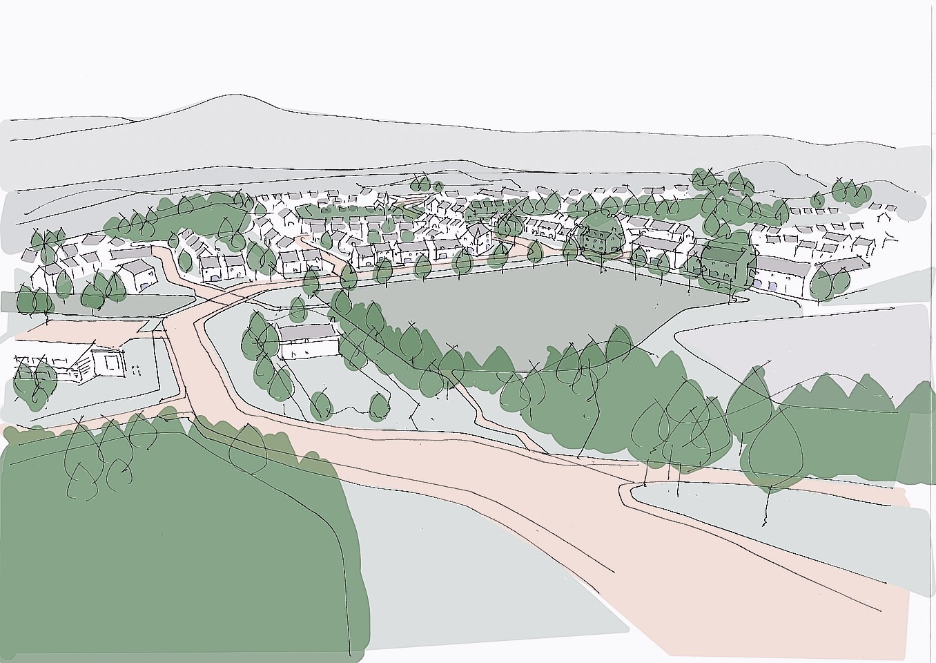 Artist impressions of the plans at Banchory
