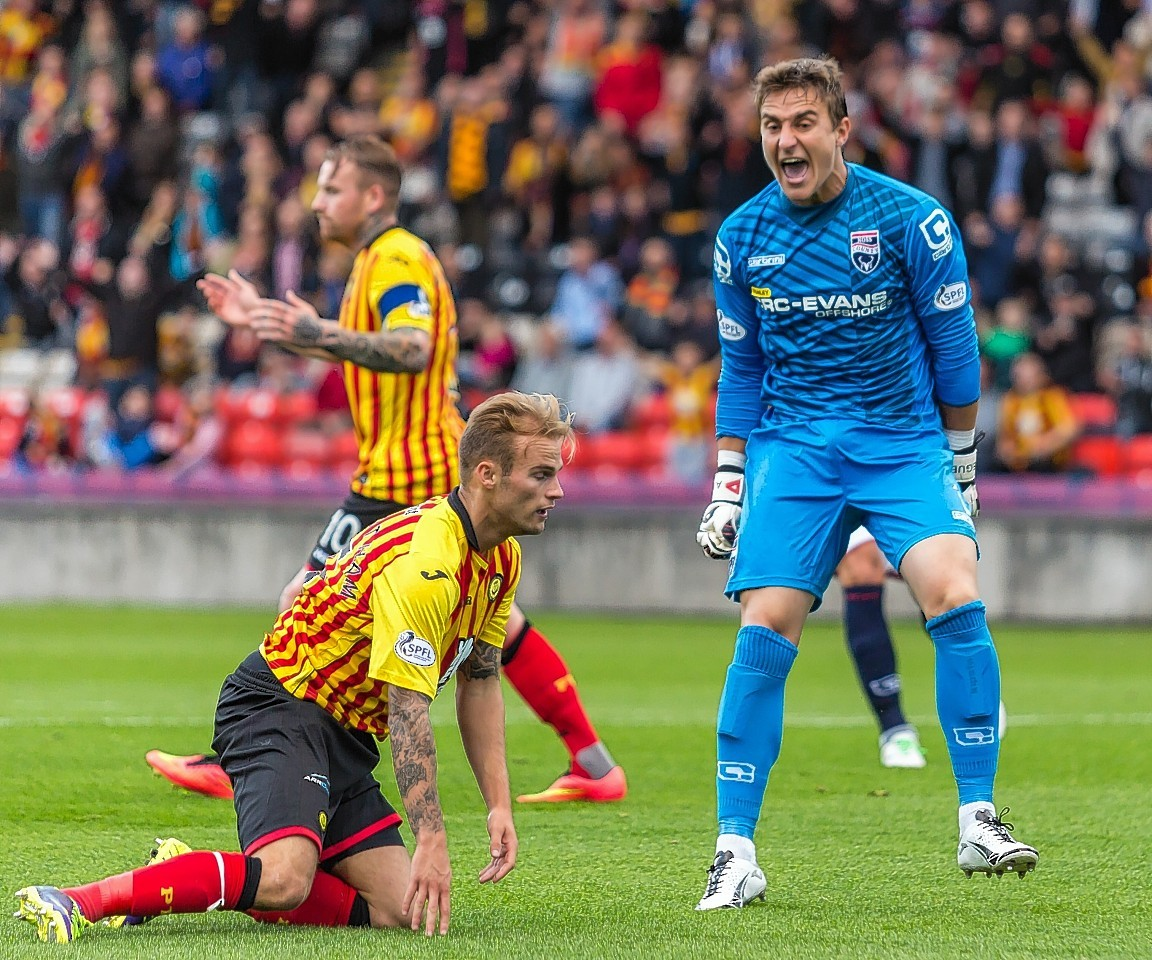 Partick Thistle vs Ross County