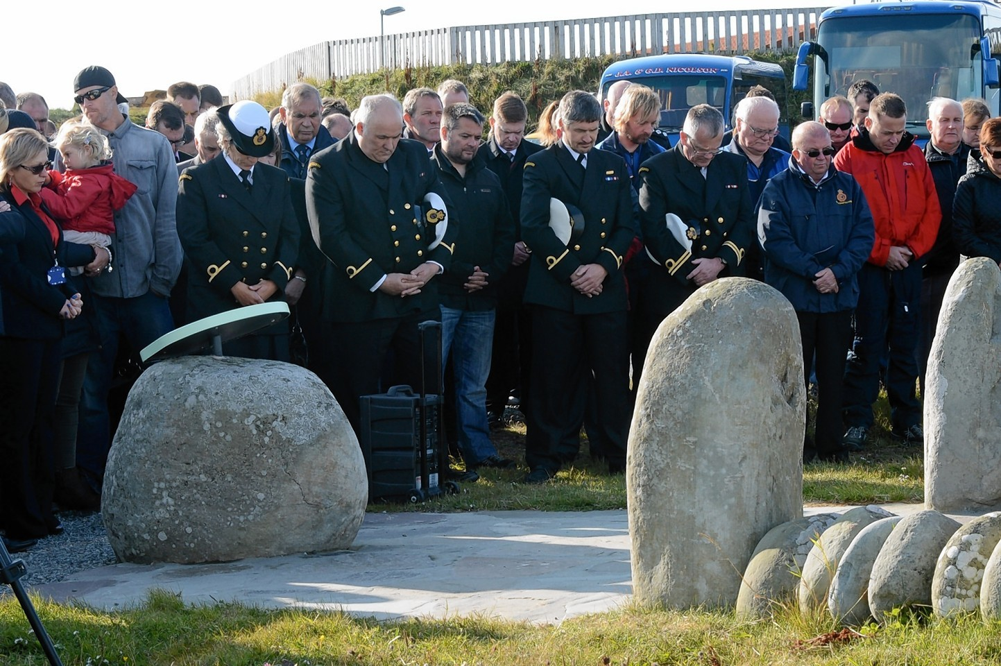Sumburgh helicopter memorial service