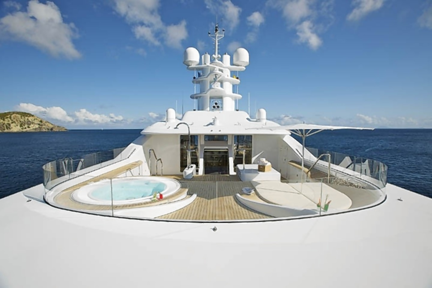 Inside Willy Michel's super yacht