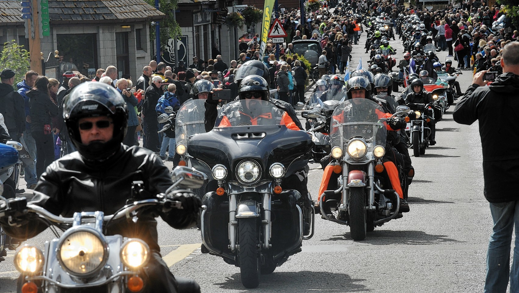 The Thunder in the Glens rally has grown year on year.