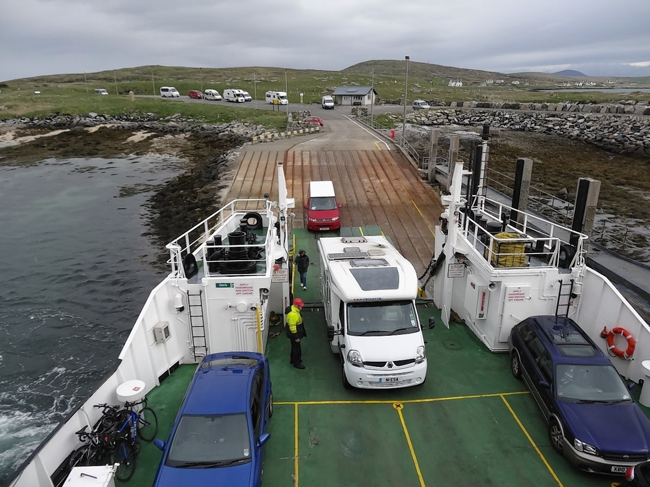 Western Isles ferry. Pic by Kevin McGlynn