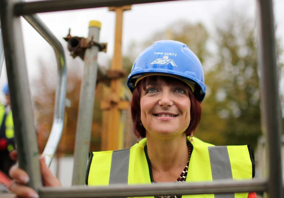 "Angela Constance said economic recovery ""is continuing to gain momentum"""