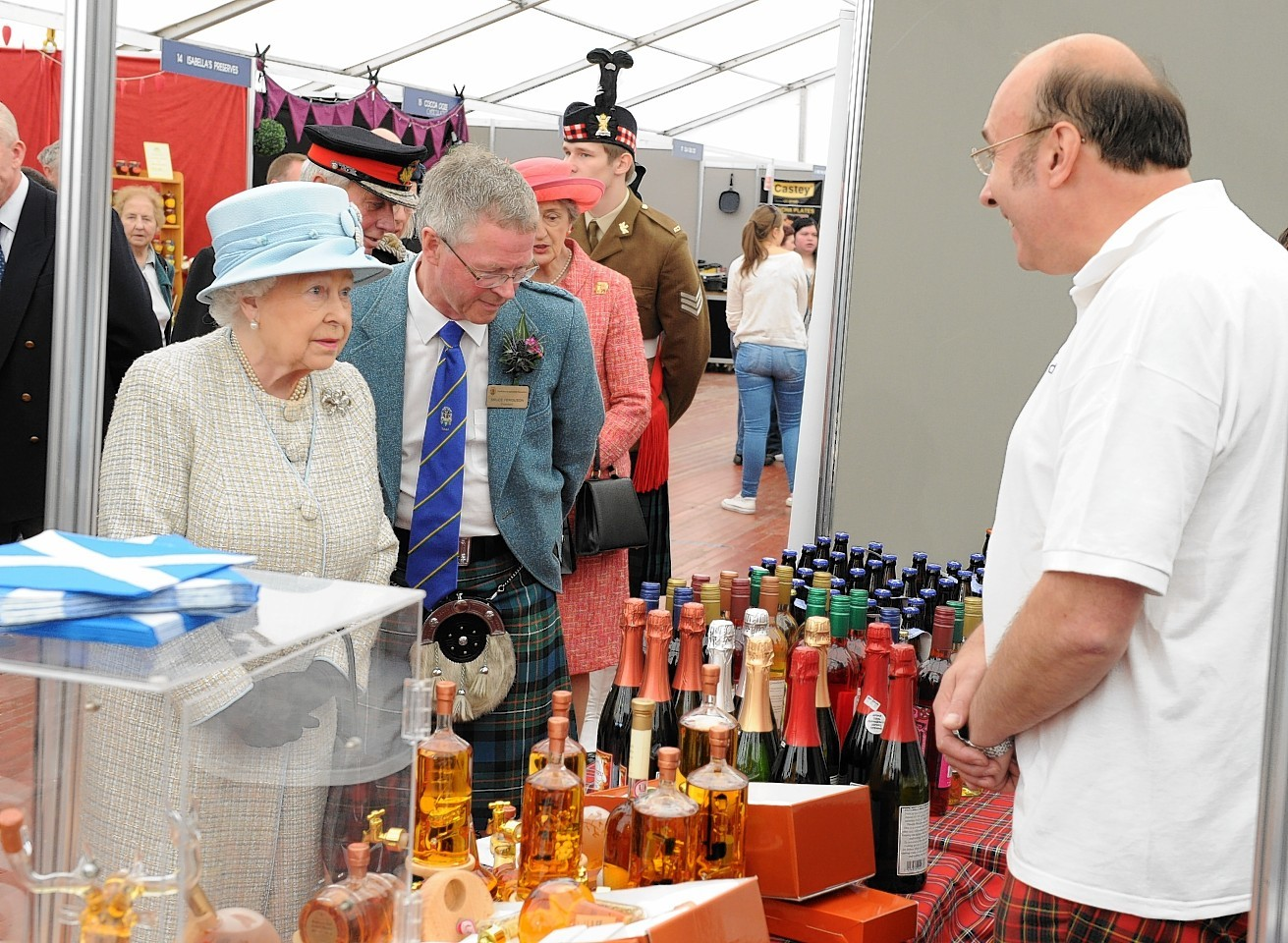 The Queen at Turriff Show