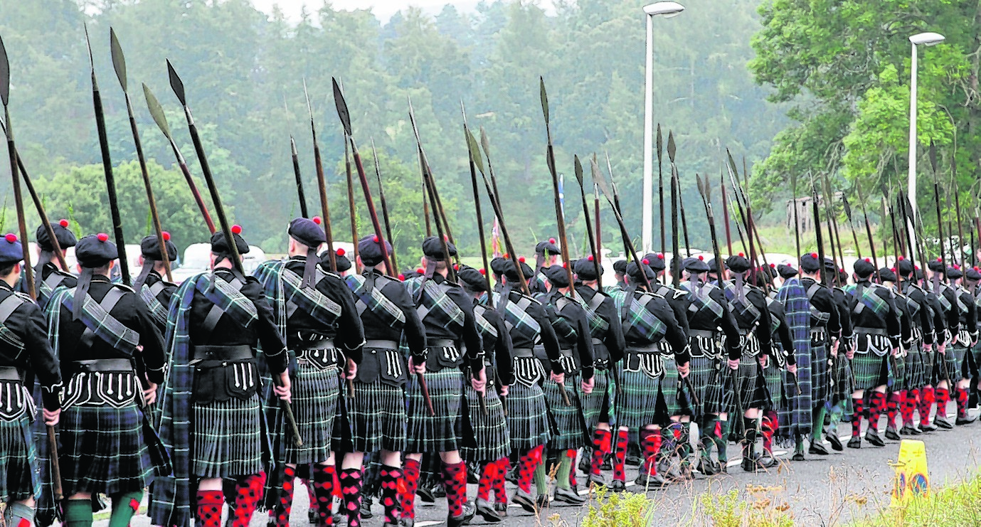 Lonach Gathering and Games, in Aberdeenshire