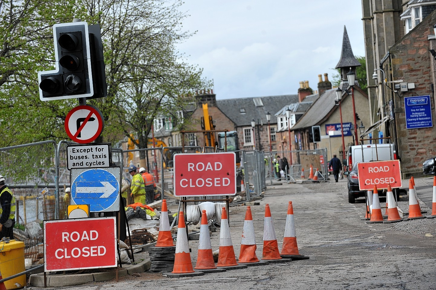 Bank Street, Inverness, will open tonight (Friday)