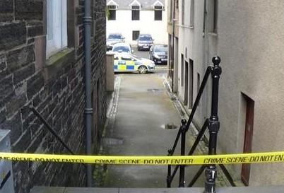 Scene of alleged sex assault in Wick