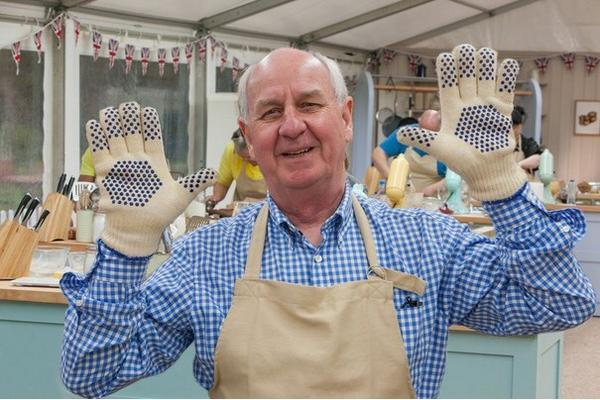 Bake-off contestant Norman Calder