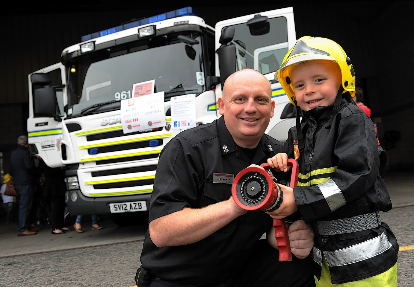 Central Fire Station Doors Open Day