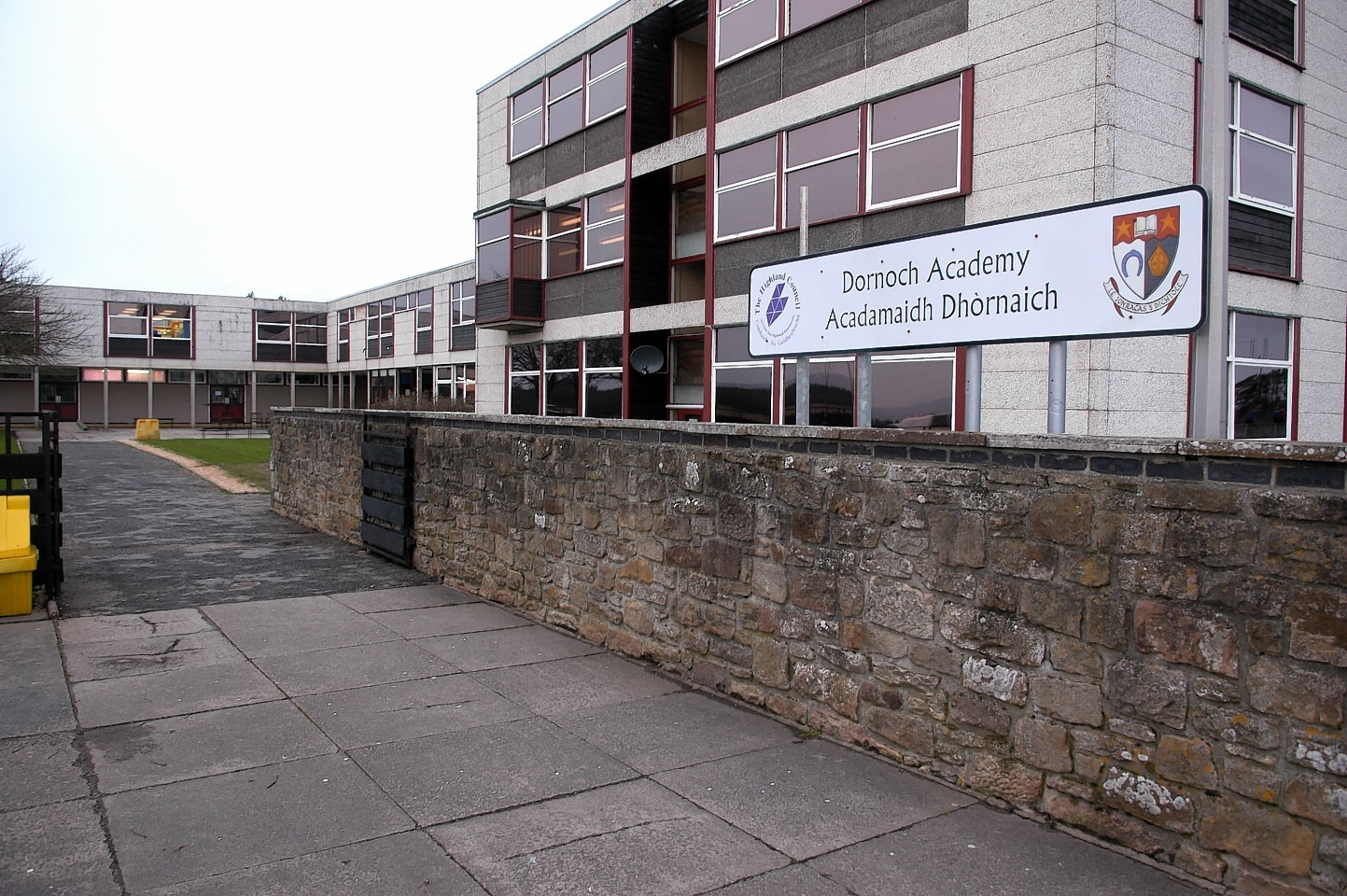The new sports centre will be built in the grounds of Dornoch Academy