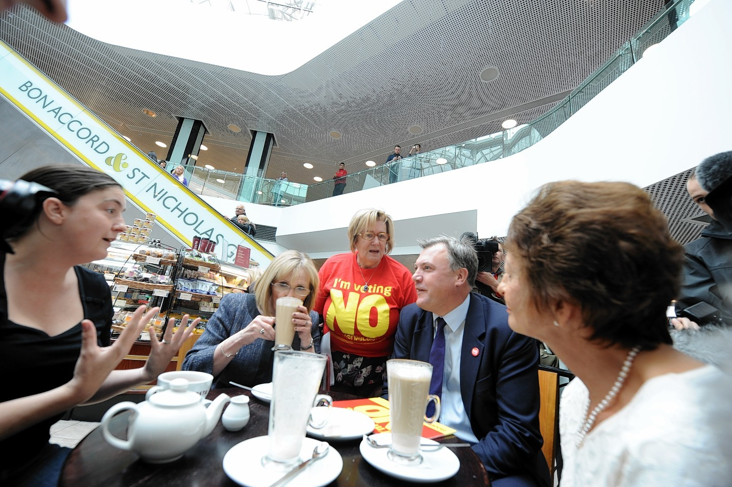 Ed Balls on his visit to the Bon Accord Centre in Aberdeen