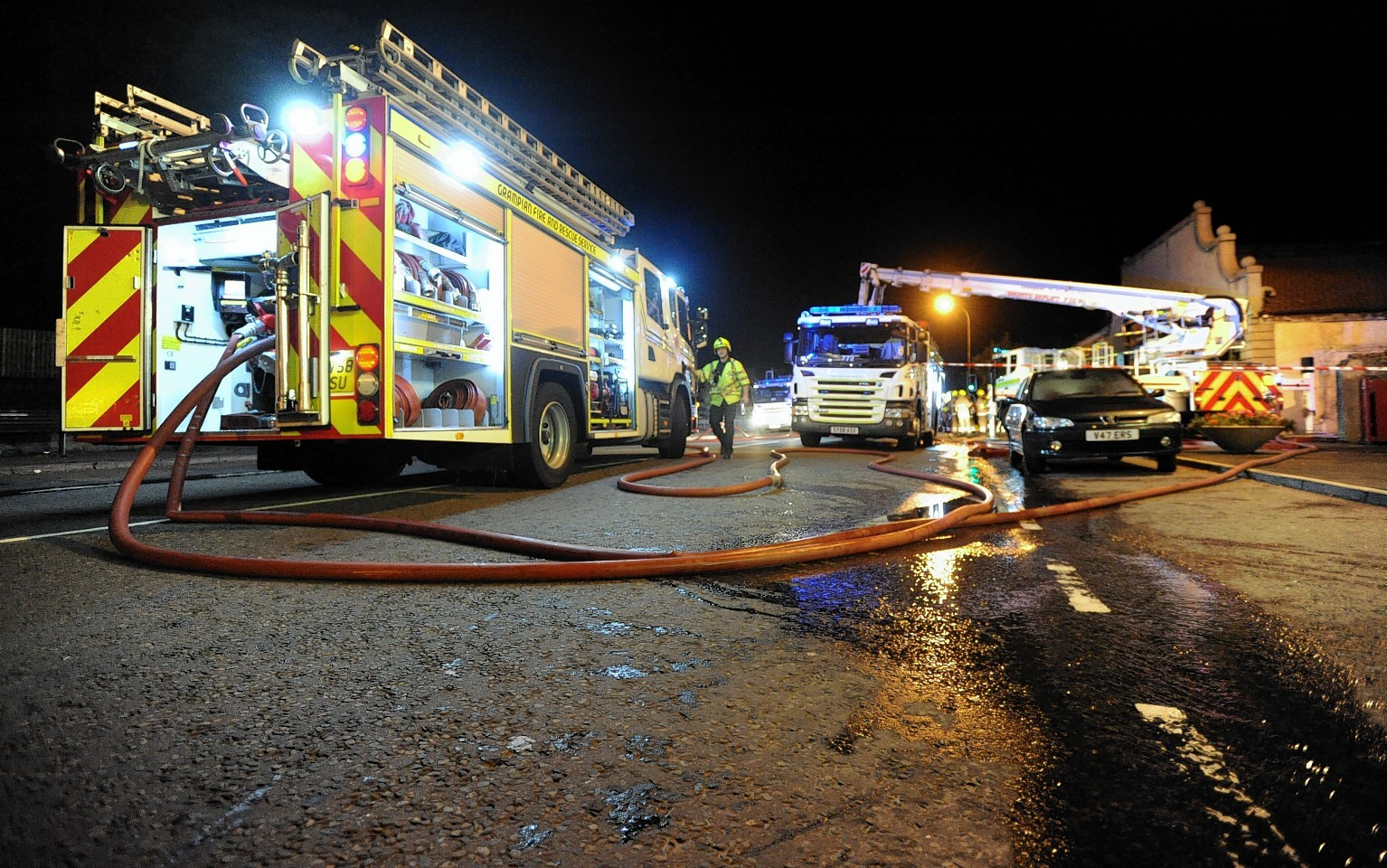 Fire services are hoping the public will attend organised celebrations