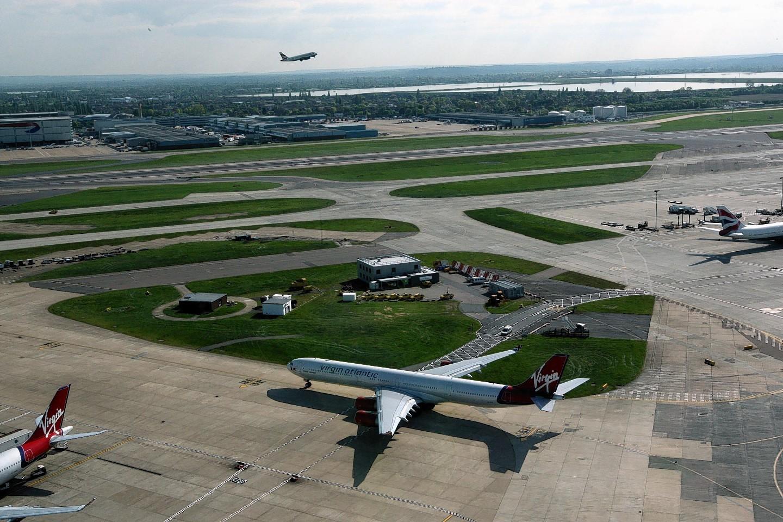 Heathrow is operating at nearly full capacity
