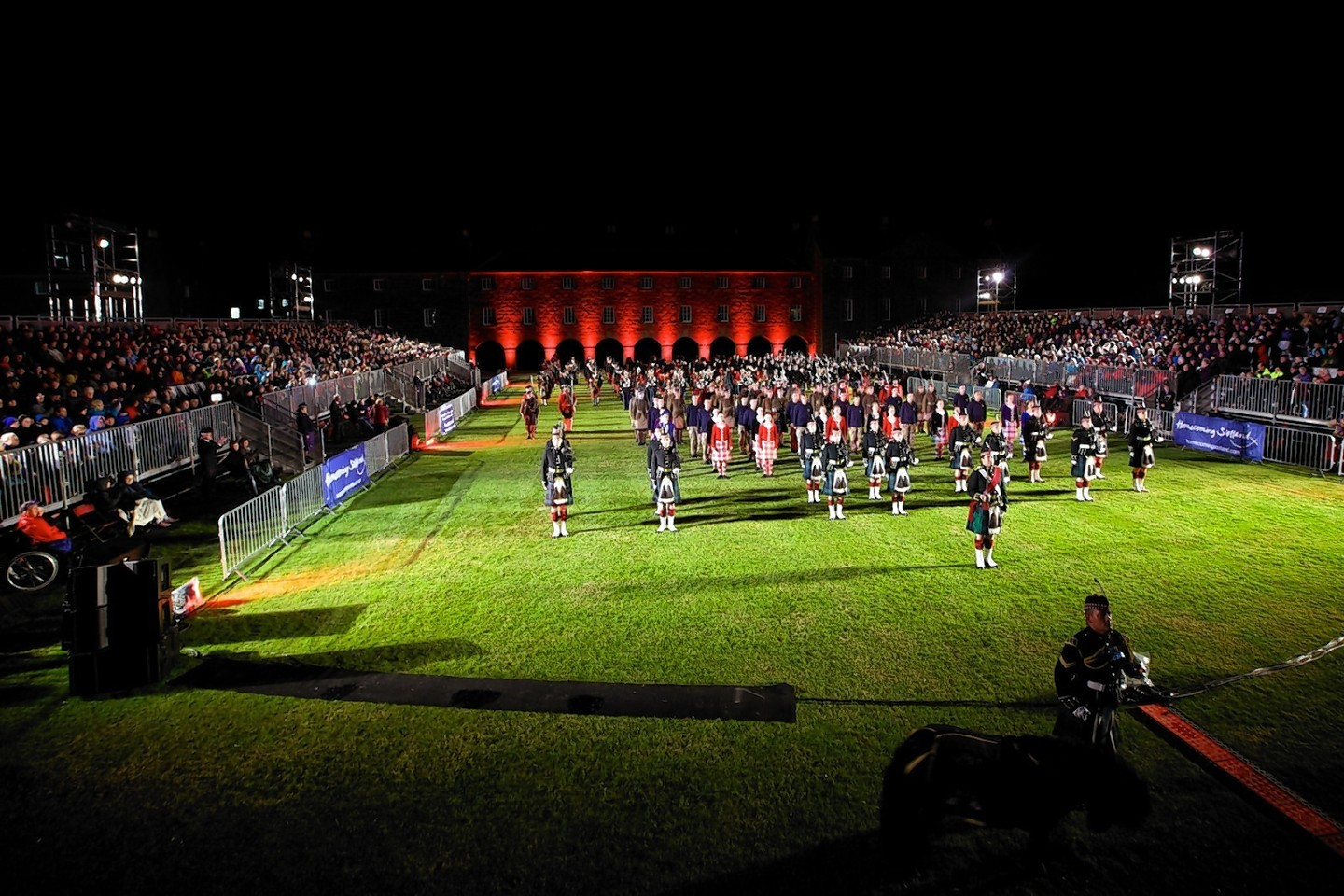 Highland Military Tattoo in 2014
