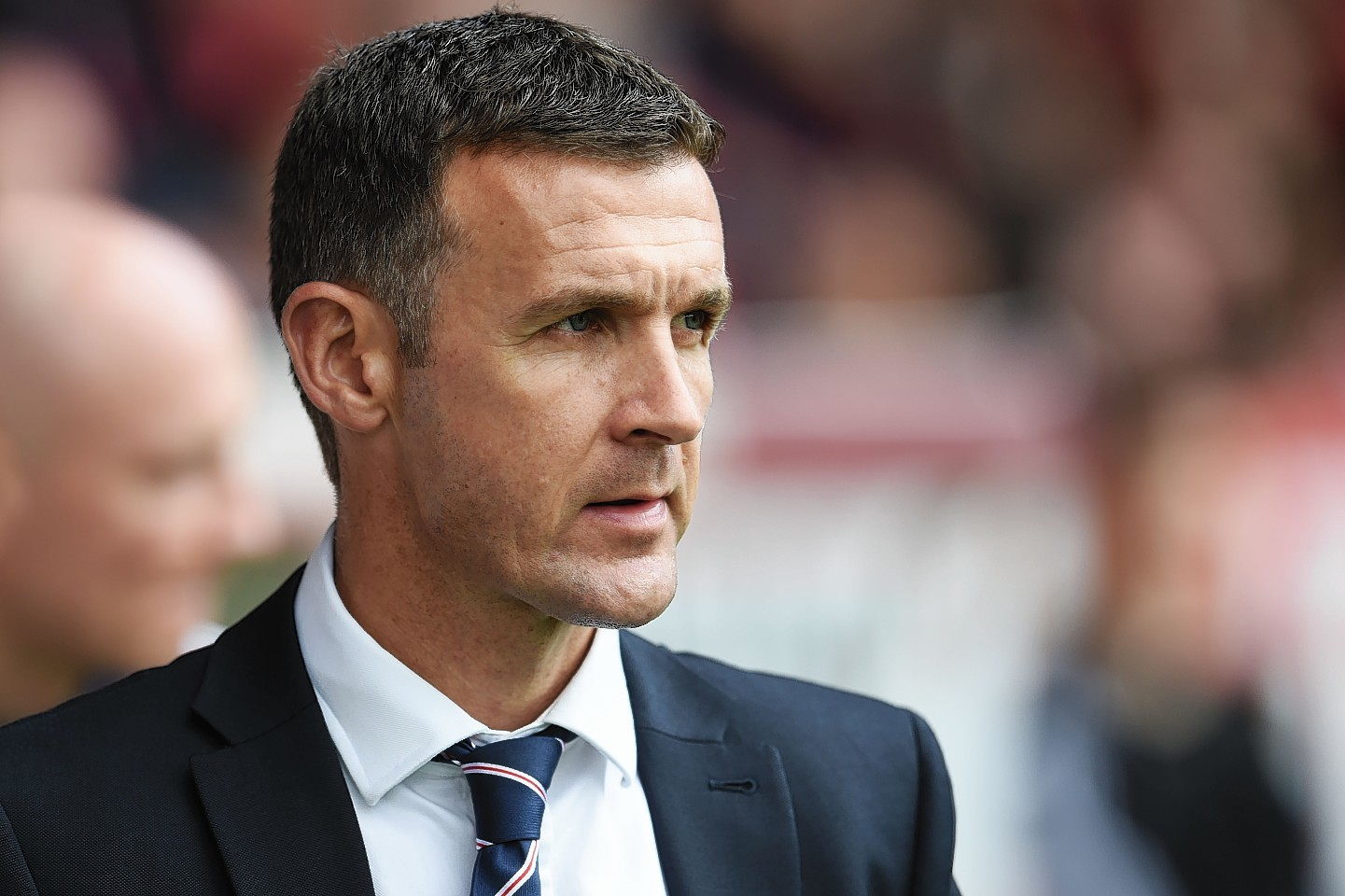 Ross County boss Jim McIntyre.