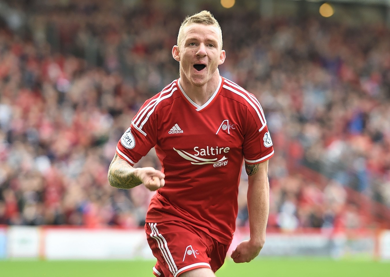 Jonny Hayes missed out for the Dons