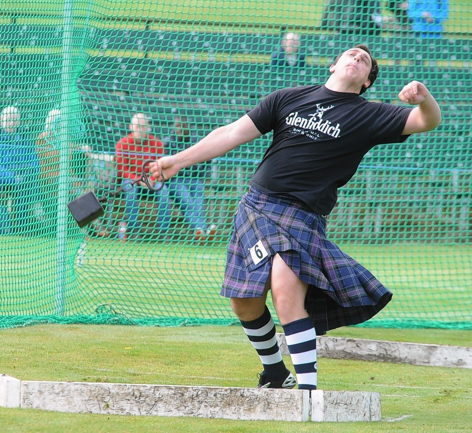 Highland heavy, Kyle Randalls.