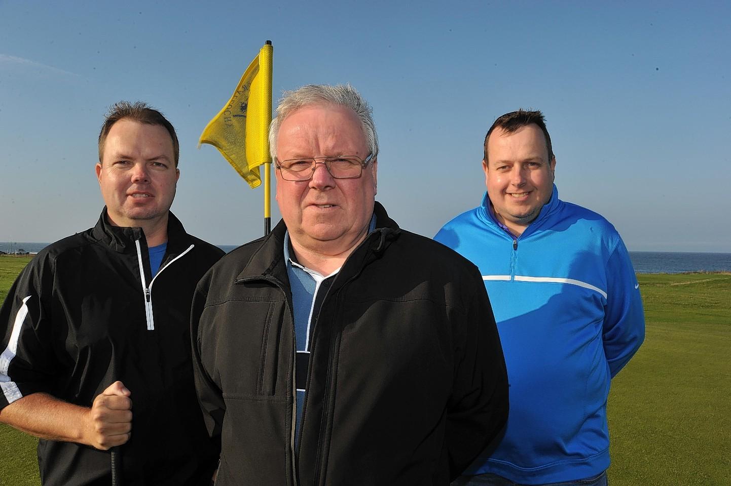 Doug , George and Martin Hastie