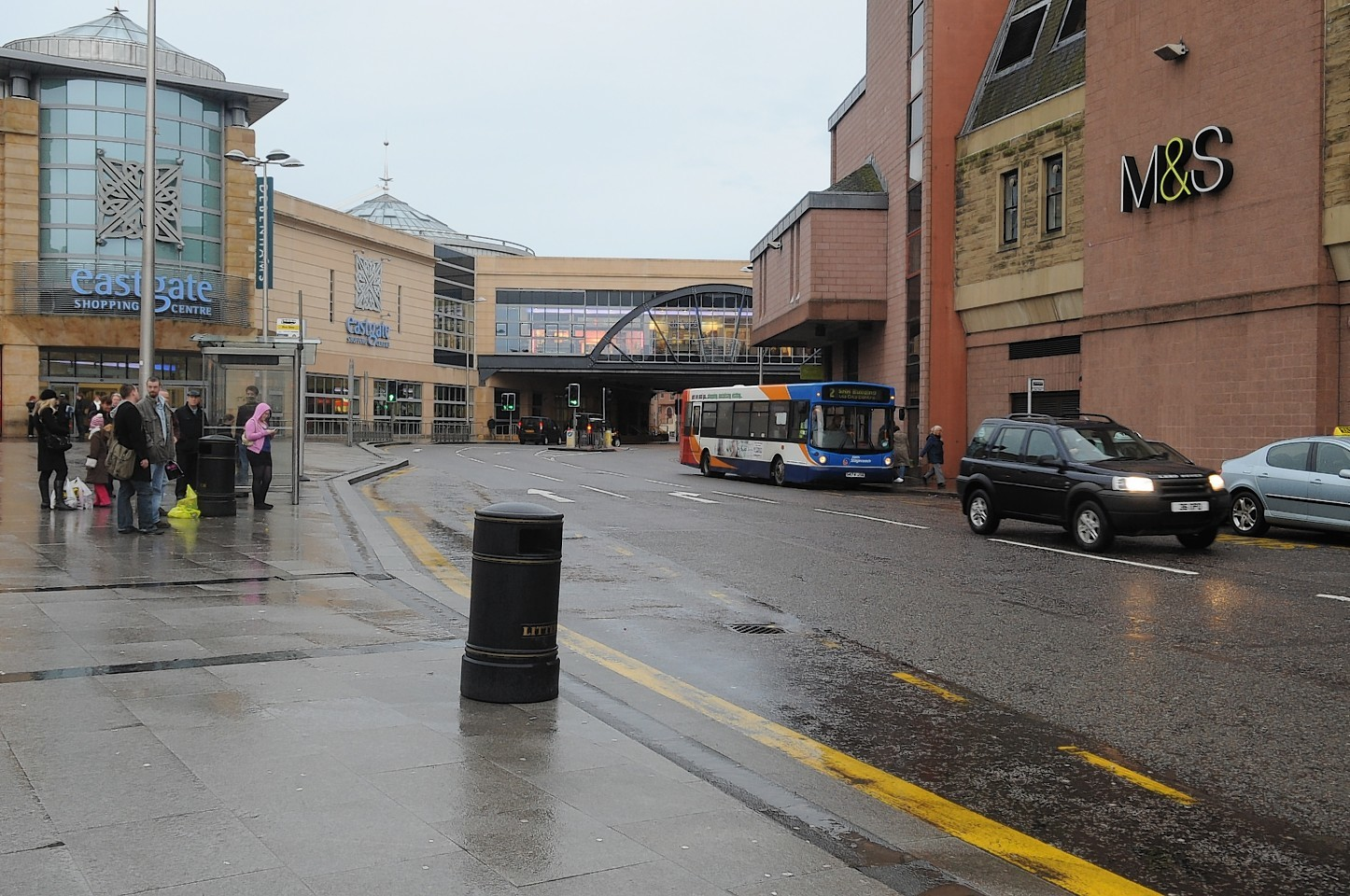 The junction at Falcon Square will be resurfaced this week