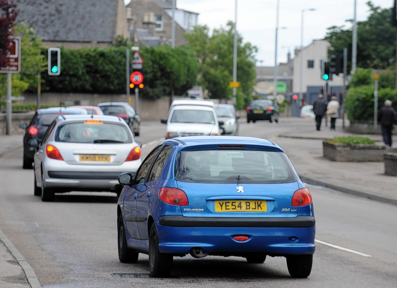 Nairn traffic lights will be upgraded this week.