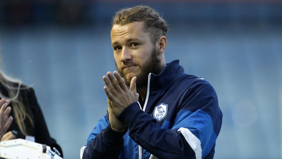 Stevie May: Could be set to join the Dons on loan.
