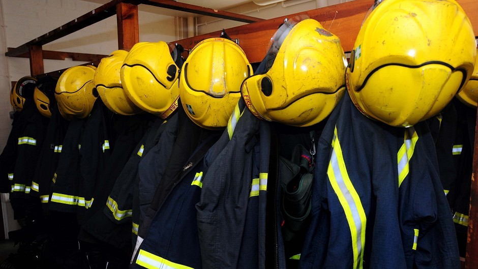 Firefighters from Thurso quickly extinguished the fire
