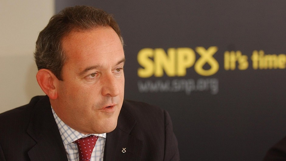 MP Stewart Hosie has launched a bid to become deputy leader of the SNP