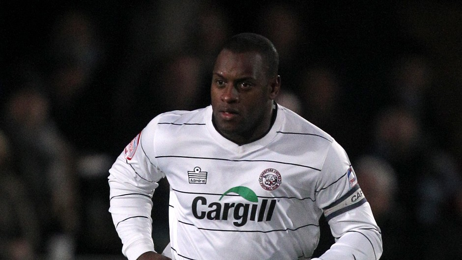 Delroy Facey, pictured playing for Hereford