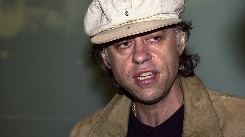 Sir Bob Geldof argued the 21st century should be about interdependence, not independence
