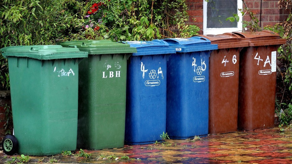Councils across Scotland recycled 42 per cent of the household waste they collected last year
